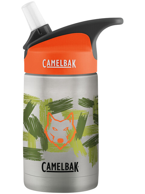 CamelBak eddy Vacuum Insulated Stainless Bottle Kids 400ml wolf camo